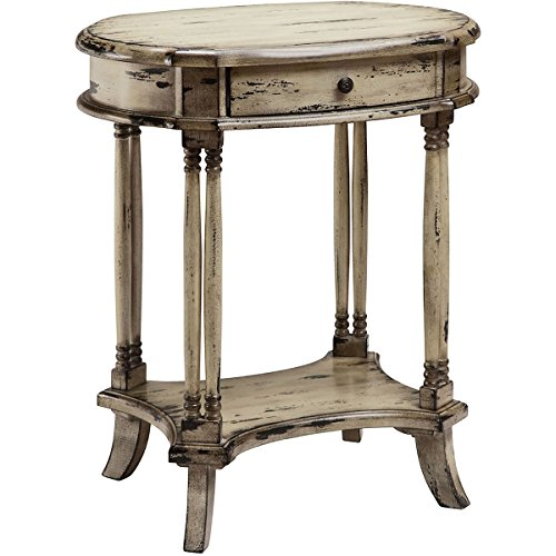 (Stein World Table in Black and Cream Finish)