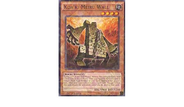 bp03-fr081 vf//rare ♦ bulwark koa /'ki meiru//wall ♦ yu-gi-oh
