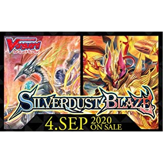 Cardfight Vanguard Silverdust Blaze CFV VBT08 Booster Box - 16 Packs