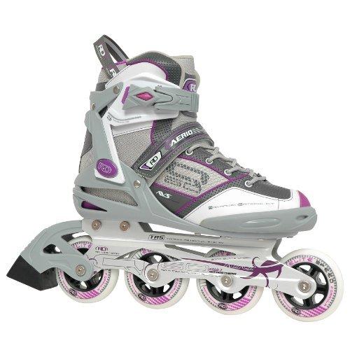 好意冷蔵する特別なRoller Derby AERIO Q-60 Women's Inline Skates 9 【You&Me】 [並行輸入品]