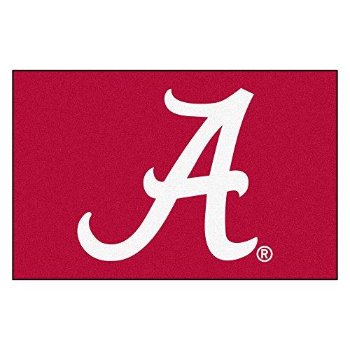 - FANMATS NCAA University of Alabama Crimson Tide Nylon Face Starter Rug