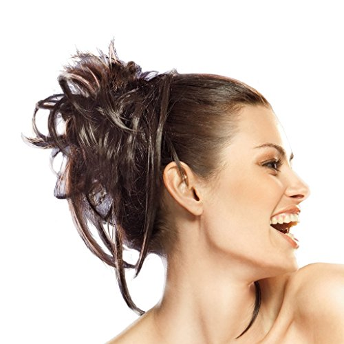 Dancing With The Stars Salsaloosa Hair Wrap Tru2life Styleable Hairpiece R830 Ginger Brown