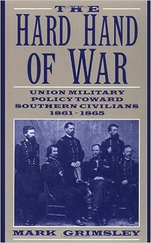 The Hard Hand Of War: Mark Grimsley: 9780521599412: Amazon.com: Books
