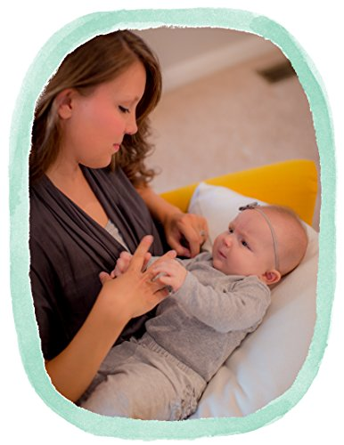 The Nesting Pillow - Organic Nursing Pillow with Washable Slip Cover by Blessed Nest (Image #9)