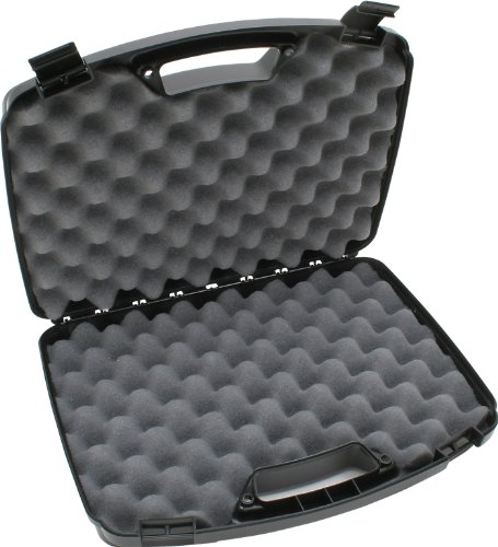 MTM 2 Pistol Handgun Case Up to 8.5-Inch Revolver (Large Pistol Case)