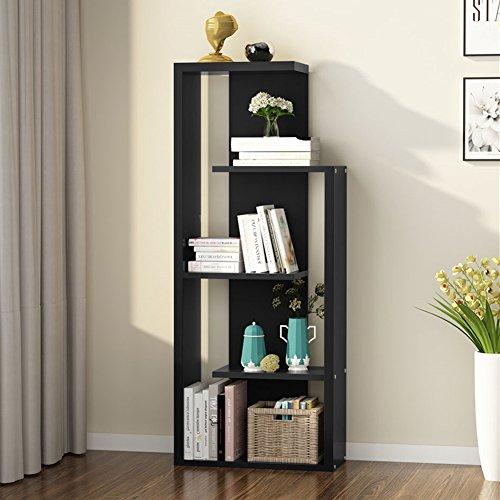 Bookcase Shelf 5 Modern (Tribesigns 5-Tier Modern Bookshelf/Bookcase, Storage Shelf Display Cabinet for Living Room, Bedroom, Office (Left))