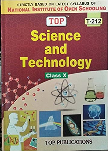Buy TOP NIOS Science & Technology Guide Class 10 (T-212) Book Online