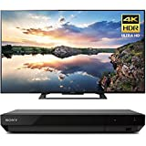 Sony 70-Inch 4K Ultra HD Smart LED TV 2017 Model (KD70X690E) with Sony 4K Ultra HD Blu Ray Player with Dolby Vision