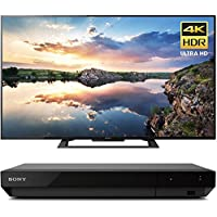 Sony KD70X690E 70 3840x2160 4K HDR X-Reality PRO Ultra HD TV with Motionflow XR & Sony UBPX800 4K HDR UHD Blu-Ray Player with Dolby Atmos 3D