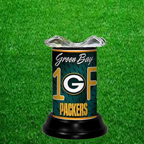 GREEN BAY PACKERS TART WARMER - FRAGRANCE LAMP - BY TAGZ SPORTS