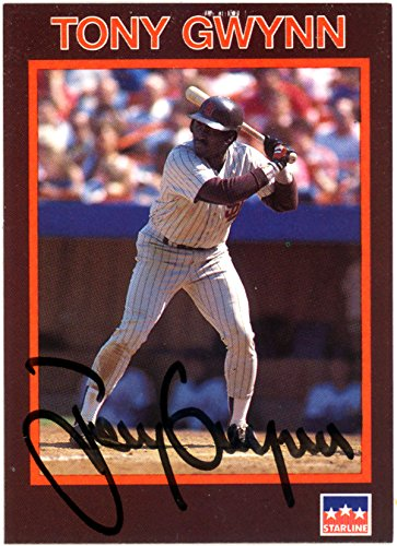 Stock Autographed Card (Tony Gwynn Autographed 1990 Starline Card San Diego Padres JSA Stock #116570)