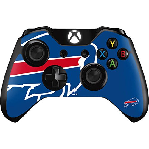 NFL Buffalo Bills Xbox One Controller Skin - Buffalo Bills Large Logo Vinyl Decal Skin For Your Xbox One - Game Bills Buffalo Today