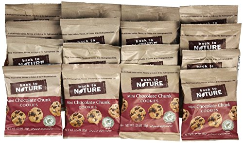 & Go Cookies - Mini Chocolate Chunk - 1.25 oz - 12 ct (Go Chunk)