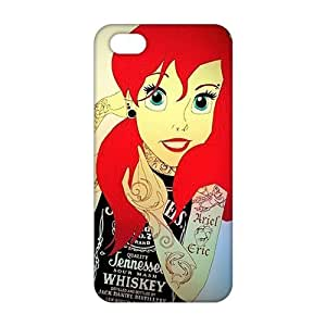 Slim Thin 3D Fashion Little Mermaid For Ipod Touch 5 Phone Case Cover