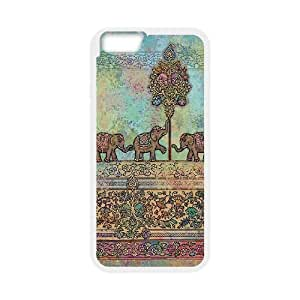 Hjqi - Customized Elephant Phone Case, Elephant DIY Case for iPhone6 4.7""