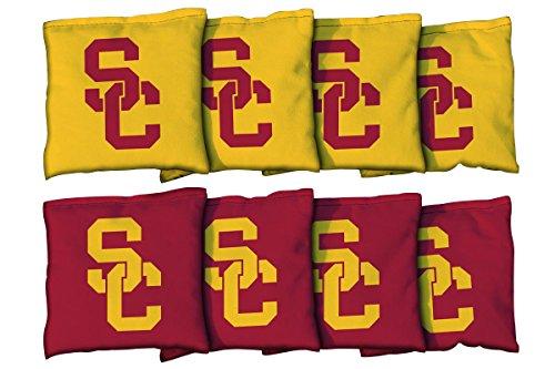 Saint Bonaventure Bonnies Victory Tailgate NCAA Collegiate Regulation Cornhole Game Bag Set 8 Bags Included, Corn-Filled