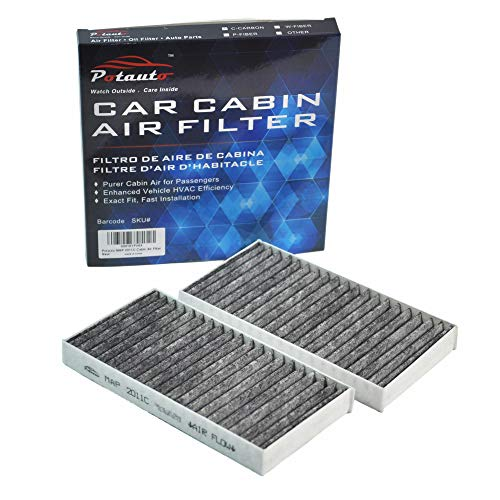 POTAUTO MAP 2011C (CF10747) Replacement Activated Carbon Car Cabin Air Filter for DODGE Nitro, JEEP Liberty
