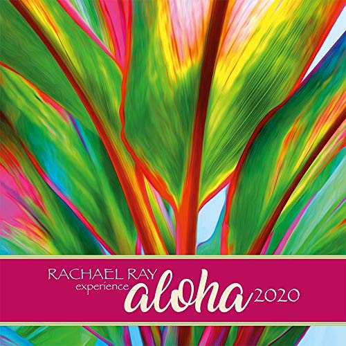 2020 Rachel Ray Experience Aloha Wall Calendar, by Pacifica Island Art