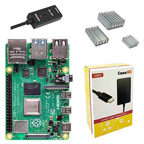 CanaKit Raspberry Pi 4 Basic Kit (2GB RAM)