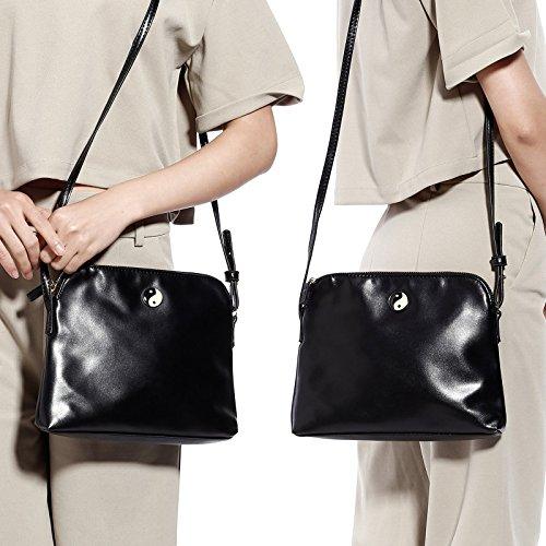 Small Handbag Messenger Womens Bag Shoulder Black Crossbody Satchel School Bag HdxS1Uq
