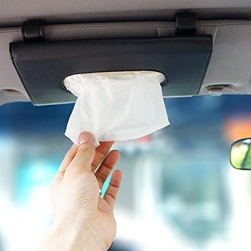 LOCEN - Distributeur de mouchoirs à attacher sur le pare-soleil conducteur de voiture best