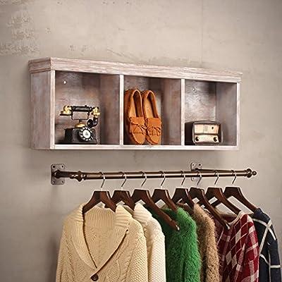 Amazon.com: Perchero para mujer, estantes de tienda ...