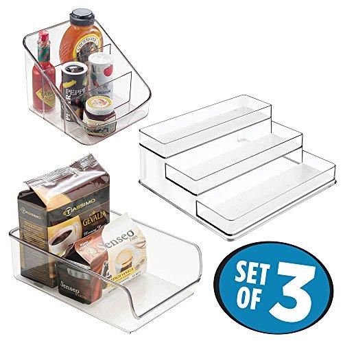 mDesign Organizer Kitchen Storage Refrigerator