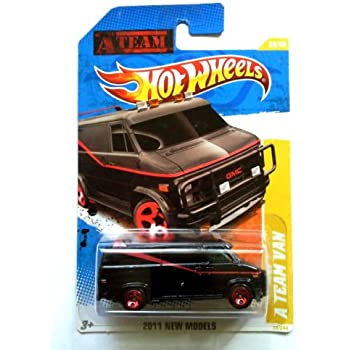 hot wheels 2011 a team van black 39 244 toys. Black Bedroom Furniture Sets. Home Design Ideas