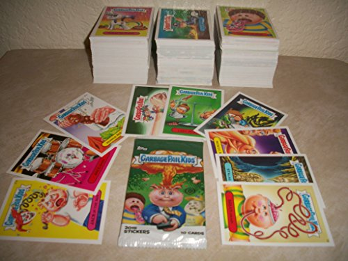 Garbage Pail Kids 2015 Series 1 LOT of Thirty Different Stickers + 2 Cereal Killer Cards.