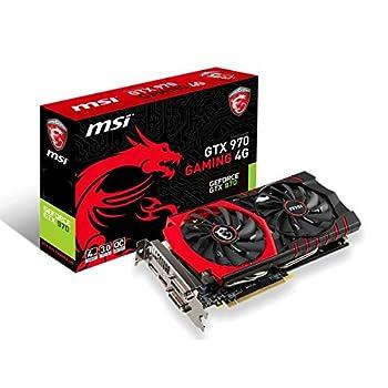 Image of Graphics Cards MSI GAMING GeForce GTX 970 4GB OC DirectX 12 VR READY (GTX 970 GAMING 4G)