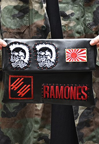 Punk rock clutch by B.F.H.