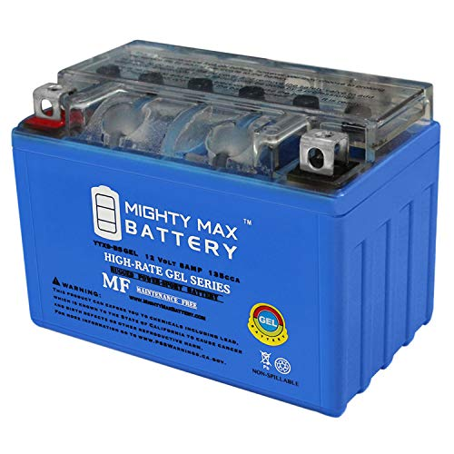 P500 Gel - Mighty Max Battery YTX9-BS Gel 12V 8AH Battery for 2003-2006 Polaris P500 Predator,Outlaw Brand Product