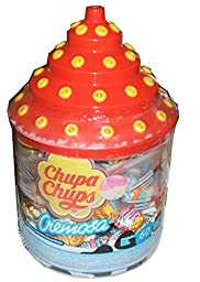 Chupa Chups Cremosa Lollipops 60 Count Assortment