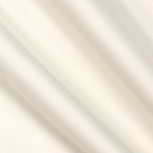 Hanes Drapery Lining Blackout Eclipse Fabric, Ivory, Fabric by the yard ()