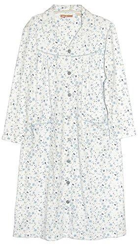 La Cera Women's Button-front Robe