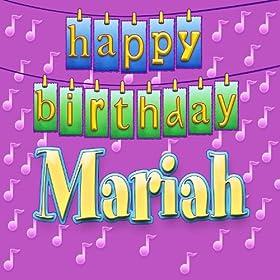 happy birthday mariah personalized ingrid dumosch from the album happy