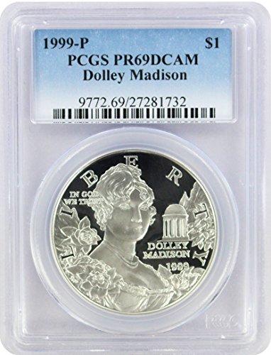 1999 P Dolley Madison Commemorative Dollar PR69DCAM PCGS