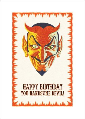 Lucca Paperworks Handsome Devil Birthday Card, 5 X 7 (1)