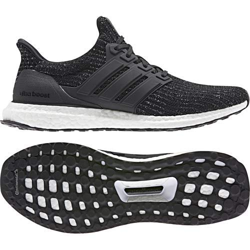 adidas Men's Ultraboost, Black/White, 9 M US by adidas (Image #8)