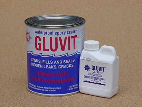 (Marine-Tex RM330K Gluvit Waterproof Epoxy Sealer - 2 lbs.)