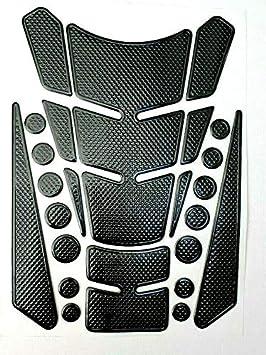 Tankpad Tankschutz Motorrad Carbon Optik Mehrteilig Universal Schwarz Auto
