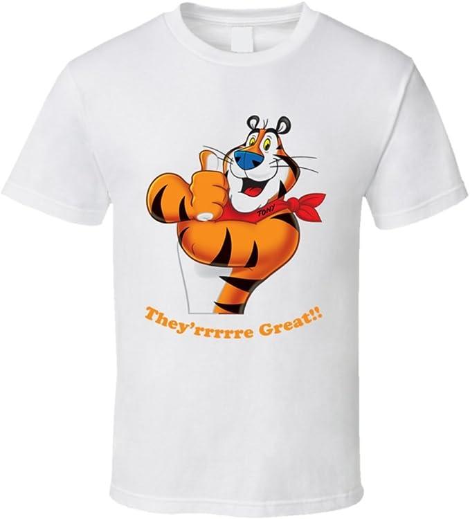 Camiseta Bandit Tony el tigre cereales Character T Shirt ...