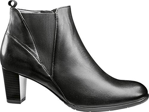 Ara Kvinna Taj 43.449 Fotled Toffeln Svart Läder