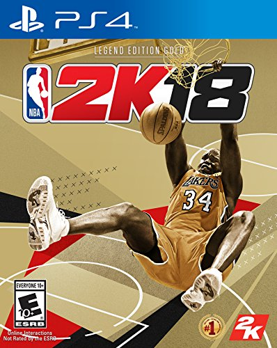 NBA 2K18 Legend Edition Gold - PS4 [Digital Code] by 2K Games