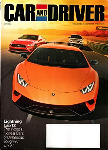 Car And Driver Magazine - Car and Driver Magazine October 2018 | Lightning Lap 12