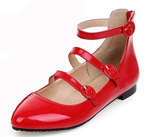 Easemax Women's Stylish Patent Leather Flat Shoes 51uI4qTiSgL home Home 51uI4qTiSgL
