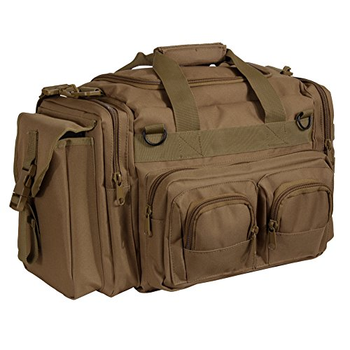 Conceal-Carry-Molle-Duffle-Tactical-Range-Gear-Bag-Coyote-Brown