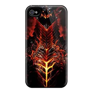 Hot Enf20525CeWU World Of Warcraft Dragon Characters Faces Cases Covers Compatible With Iphone 6plus