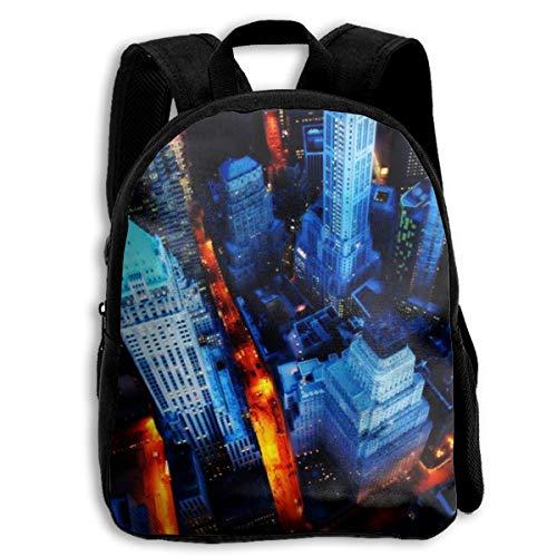 Wall Street School Backpack Knapsack Personalized Daypack Children Travel Backpack For Kids Boys Girls
