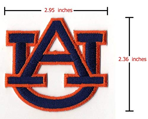 Auburn Tigers NCAA Logo Embroidered Iron on Patch
